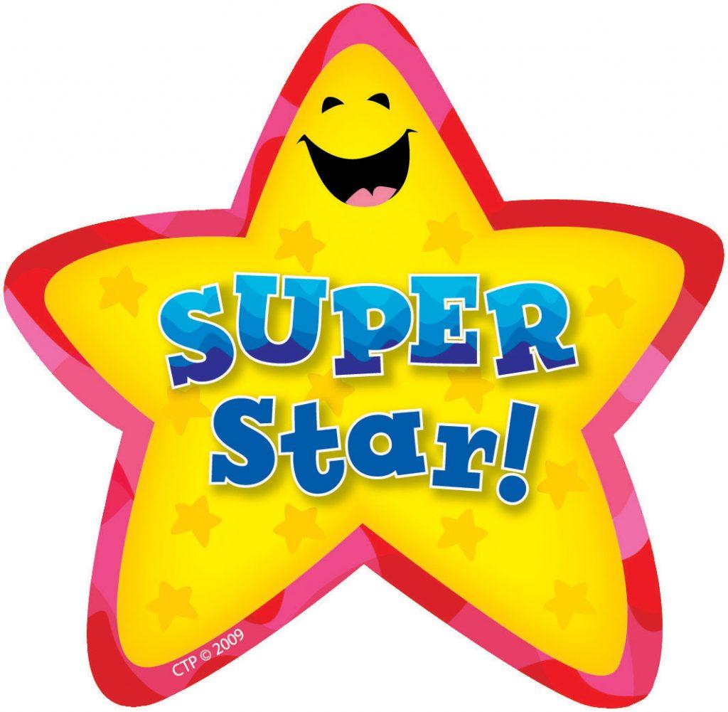 1024x1001 Gold Star Sticker Great Job Free Here