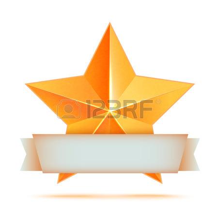450x450 Realistic 3d Gold Star Set. Award Winner. Good Job. The Best