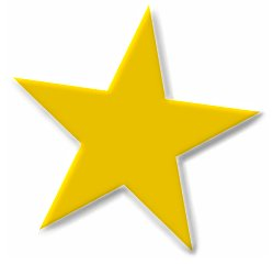 249x240 Gold Star Clipart Free