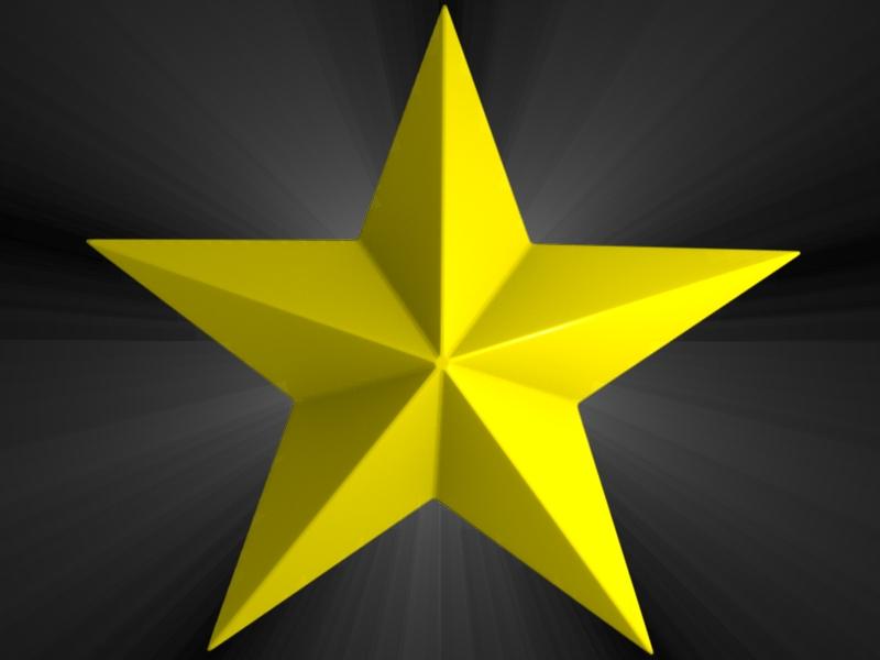 800x600 Gold Star Golden Star Clipart