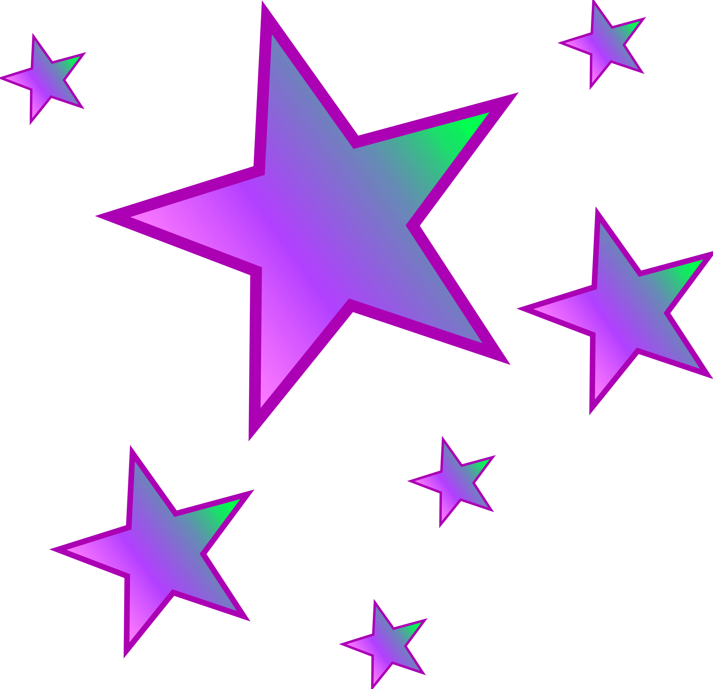 2400x2320 Clipart Of Stars