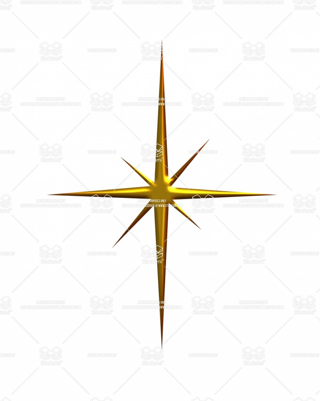 1199x1500 Gold Christmas Star Clipart