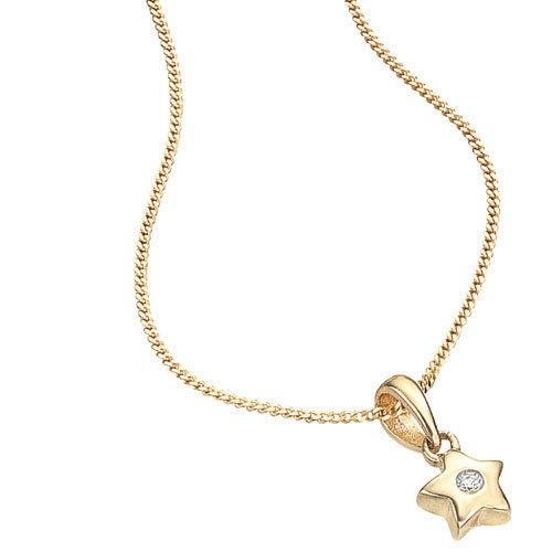500x500 Gold Star Necklace, Sone Ki Chain
