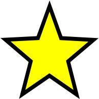 194x193 Gold Stars Clip Art Download