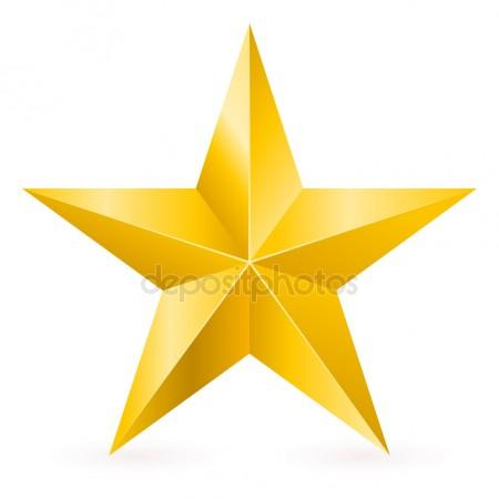 450x450 Gold Star Stock Vectors, Royalty Free Gold Star Illustrations