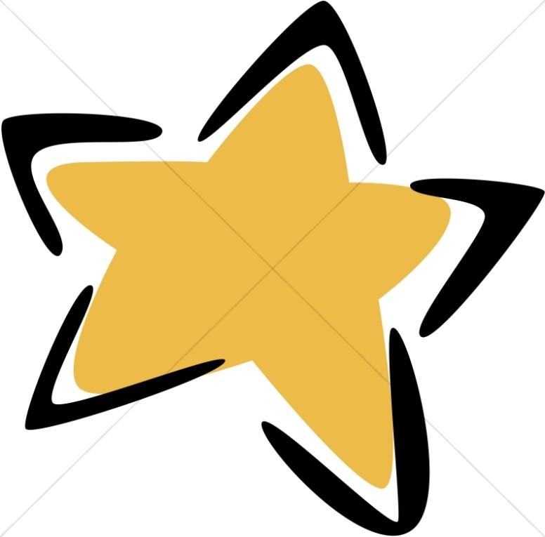 776x765 Modern Gold Star Christian Star Clipart