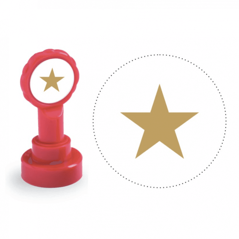 819x819 Xclamation Gold Star Stamp Stock Stampers