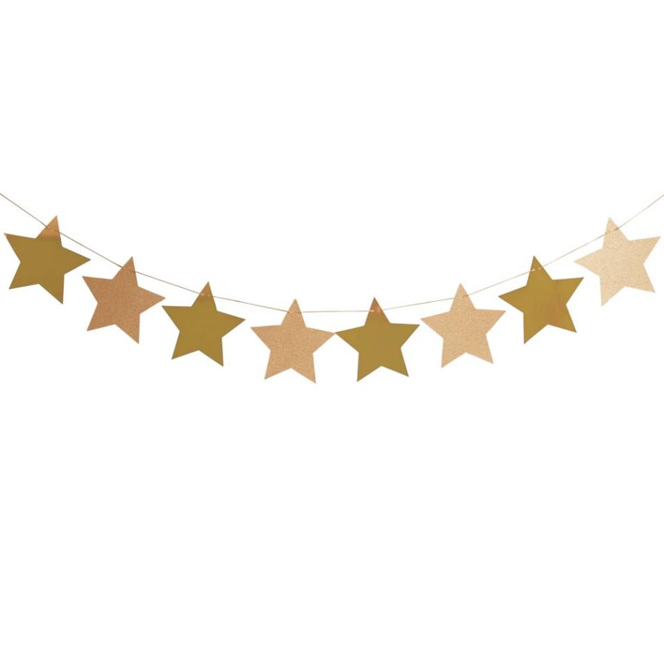 956x956 Star Garland