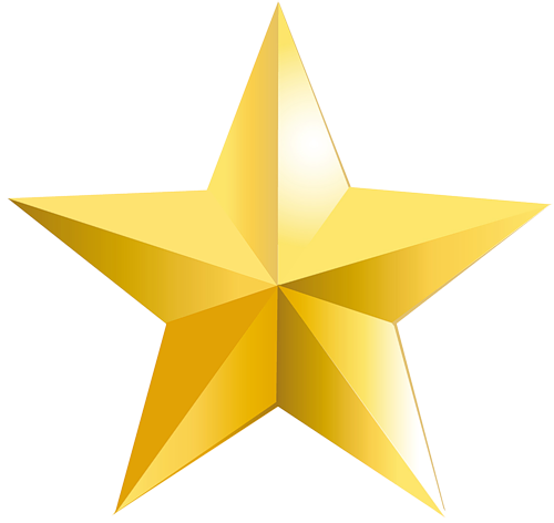 500x472 Golden Star Gold Png Hollywood Image