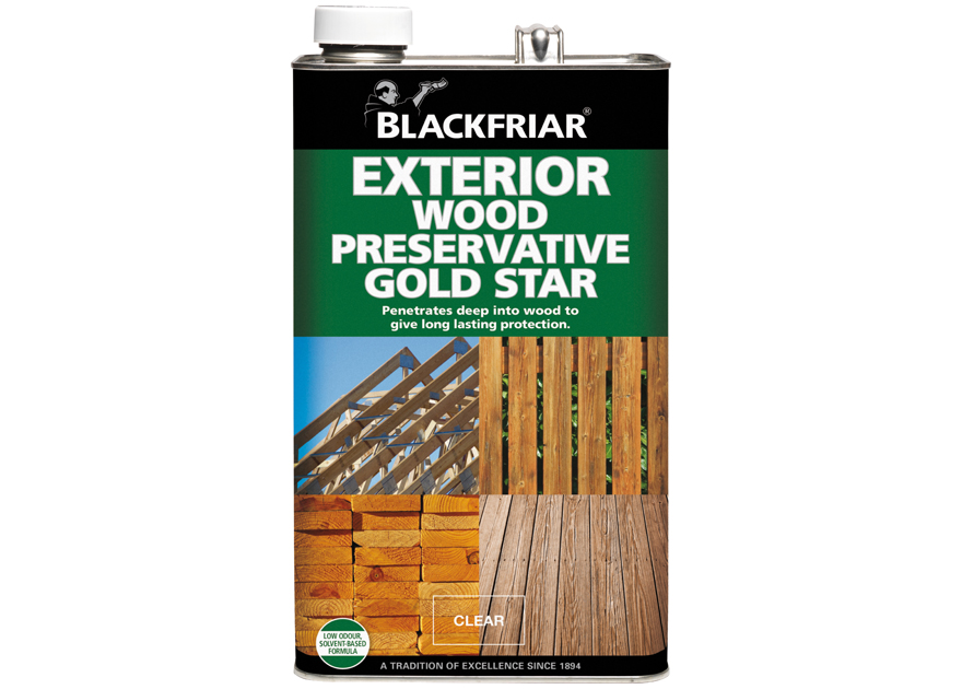 880x630 Exterior Wood Preservative Gold Star