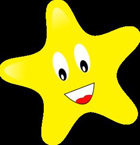 288x298 Single Star Clip Art