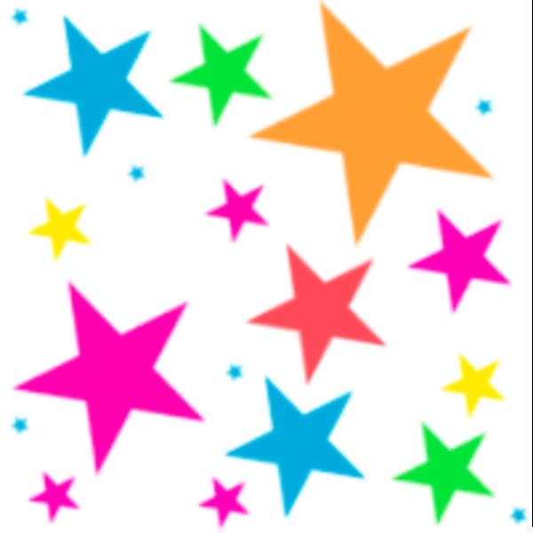 600x600 Stars Clipart