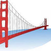 200x200 Golden Gate Bridge Clipart