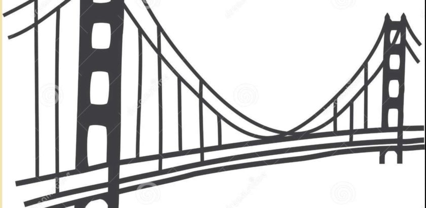 840x410 Golden Gate Bridge Pencil Drawings Drawing Examples And Drawing