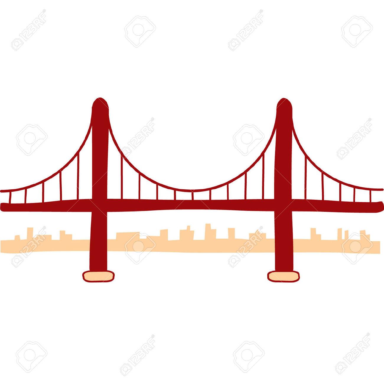 1300x1300 Golden Gate Clipart