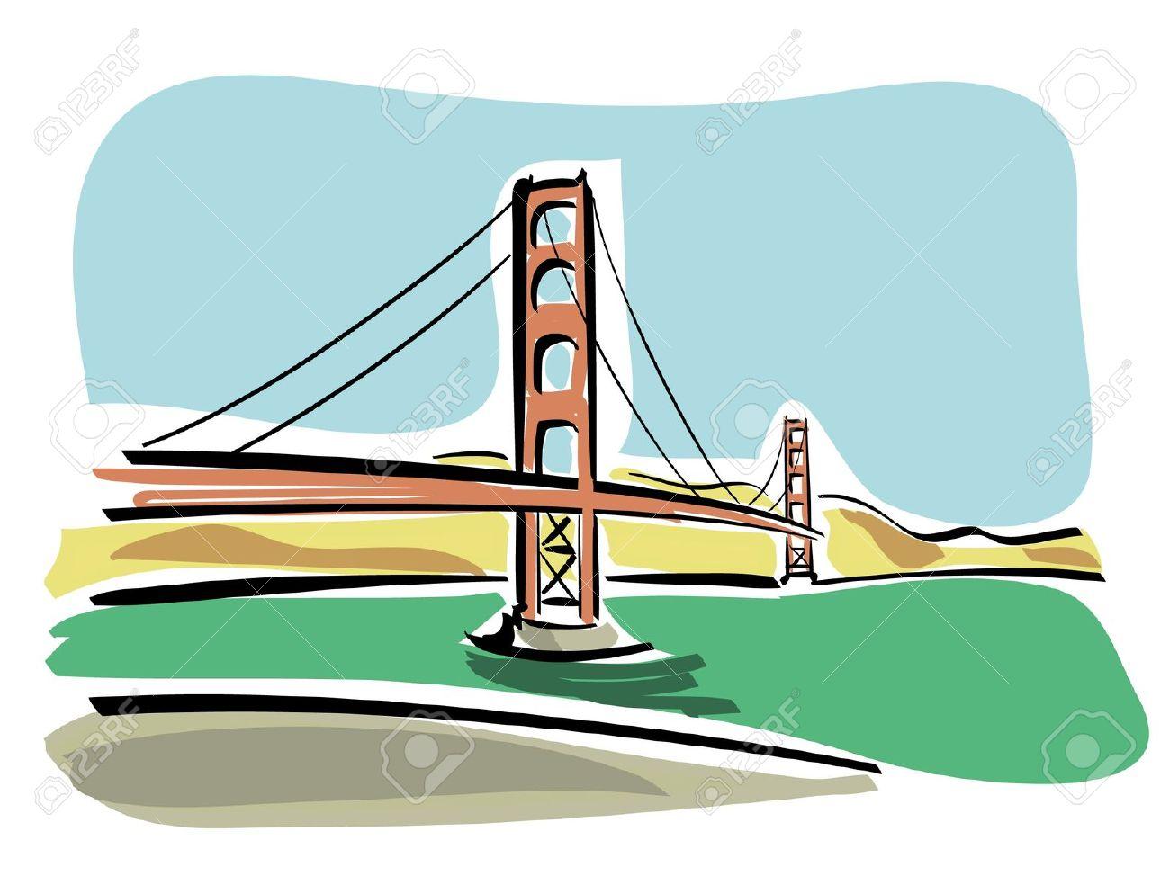 1300x974 Hollow Box Bridge Clipart