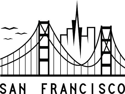 479x359 San Francisco Clipart