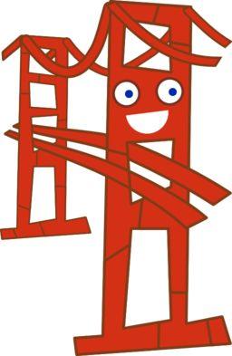 256x393 Best Bridge Clipart Ideas Brownie Scouts