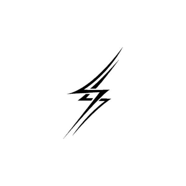 600x600 Drawn Lightning Transparent Background