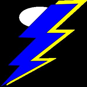 297x297 Golden Lightning Bolt Symbol Free Clip Art