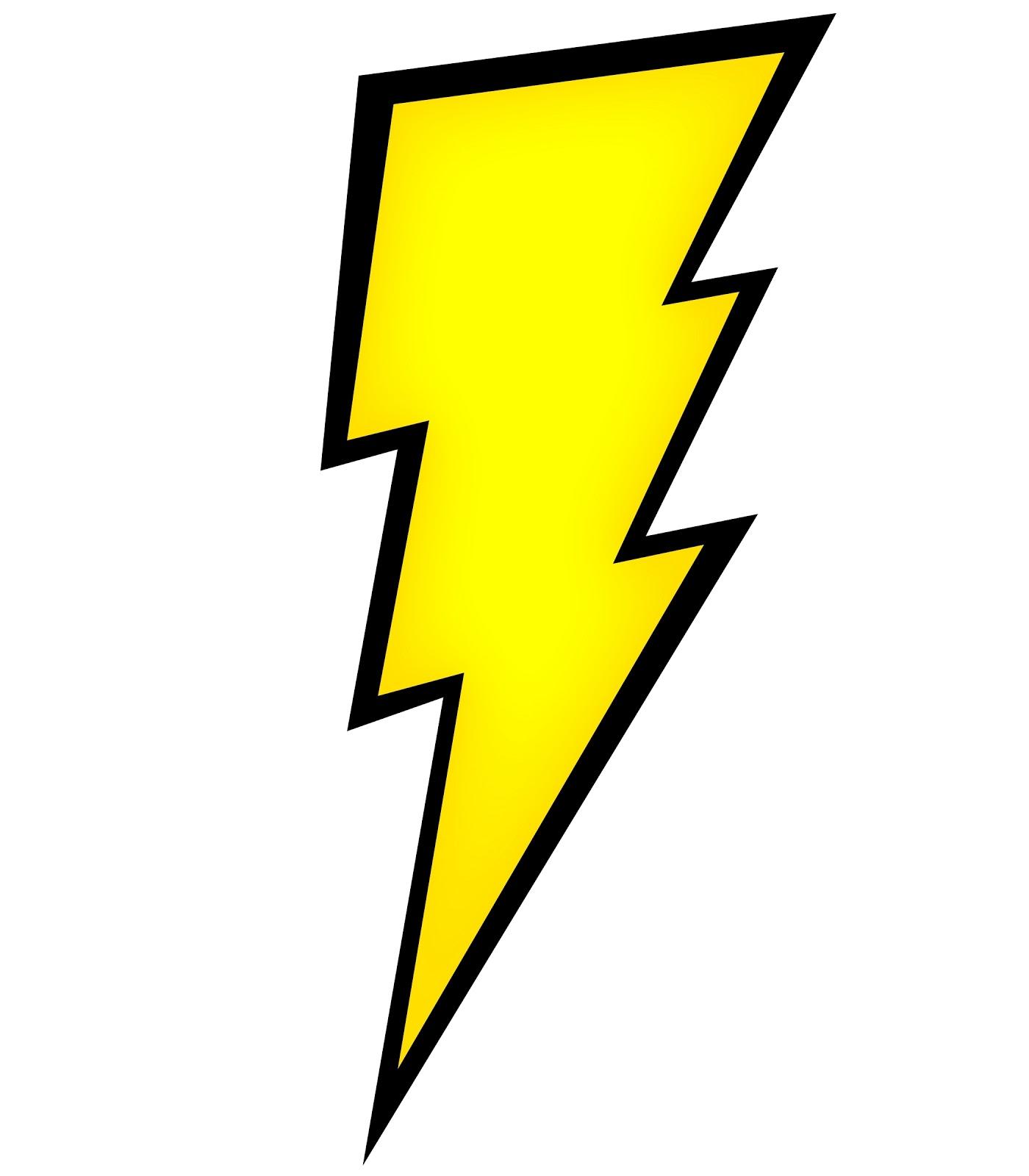 1400x1600 Lightning Bolt Outline