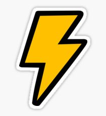 210x230 Lightning Bolt Stickers Redbubble
