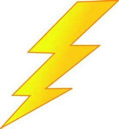 236x256 Lightning Bolt Template Small Flash Lightning Bolt