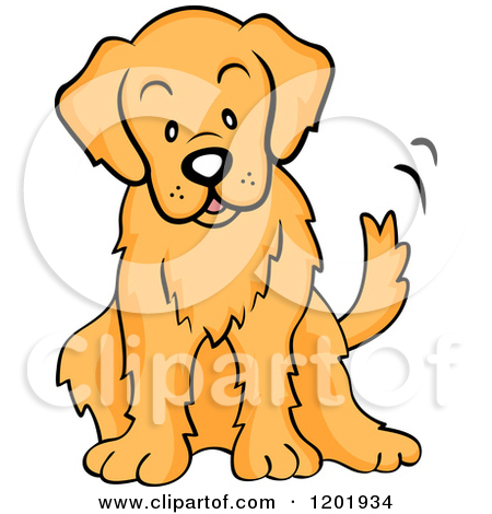 450x470 Golden Retriever Clipart Cute Cartoon