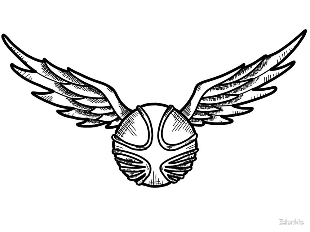 1000x750 Golden Snitch Clip Art