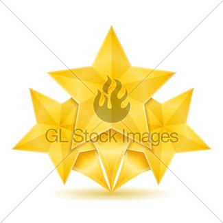 325x325 Golden Stars Gl Stock Images