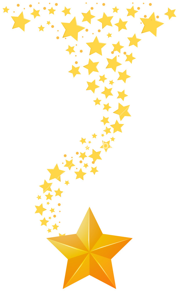 620x1000 Background Design With Golden Stars Illustration Royalty Free