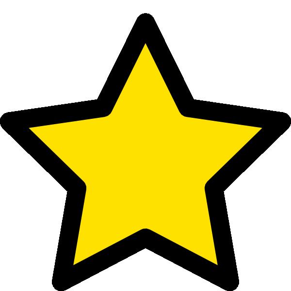 600x600 Star Clip Art