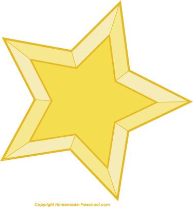 375x404 Christmas Star Clip Art