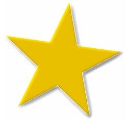 249x240 Golden Stars Clipart