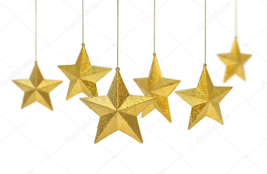 1024x670 Six Golden Stars Hanging Stock Photo Anterovium