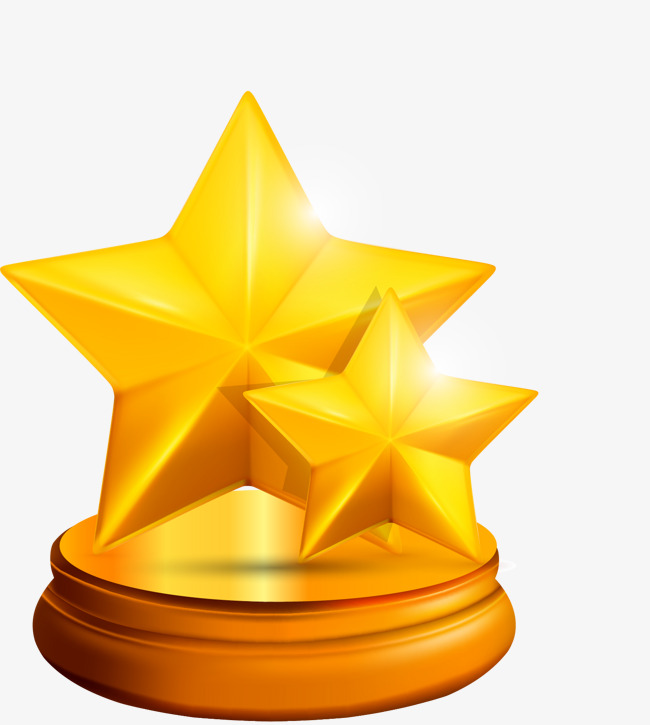 650x725 Cartoon Gold Stars, Cartoon, Golden, Stars Png Image For Free Download
