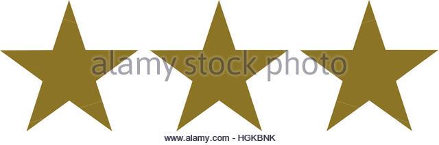 640x212 Three Golden Stars Icon Stock Photos Amp Three Golden Stars Icon