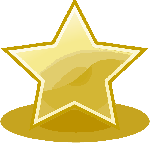 150x143 Star, Yellow, Cartoon, Golden, Sheriff, Badge, Stars