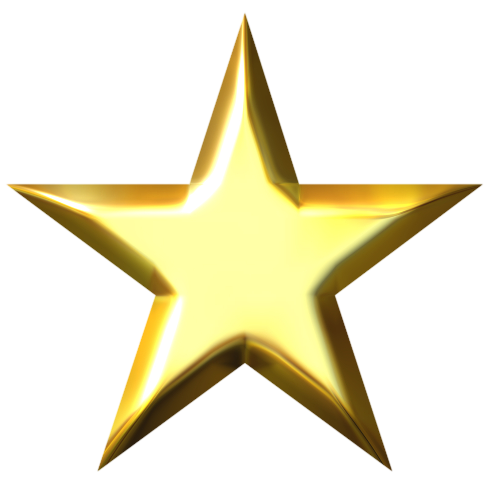 1000x1000 Star Png Transparent Images Png All