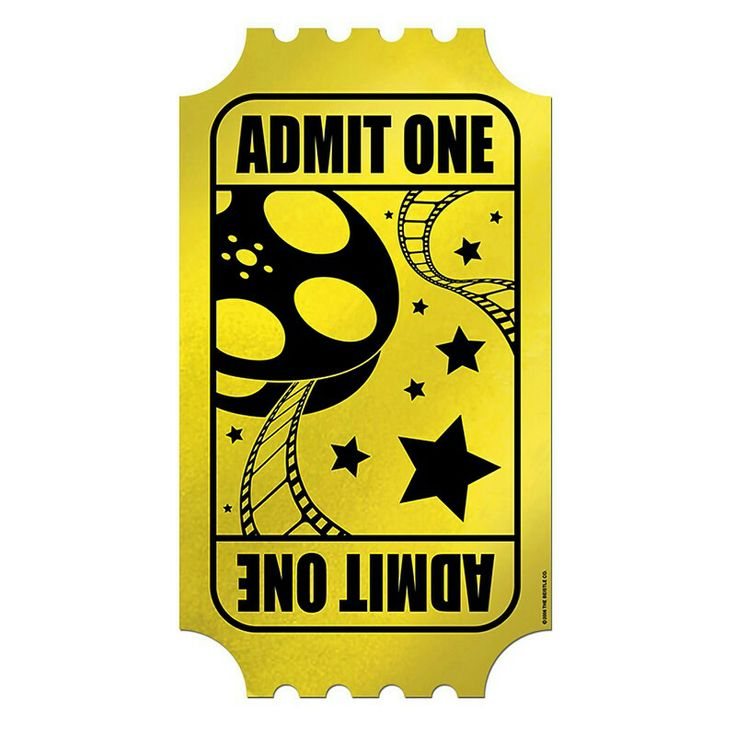 Golden Ticket Clipart