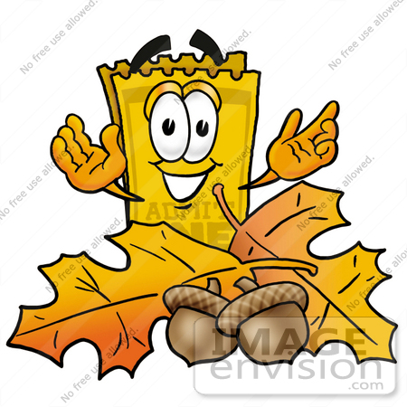 450x450 Clip Art Graphic Of A Golden Admission Ticket Character