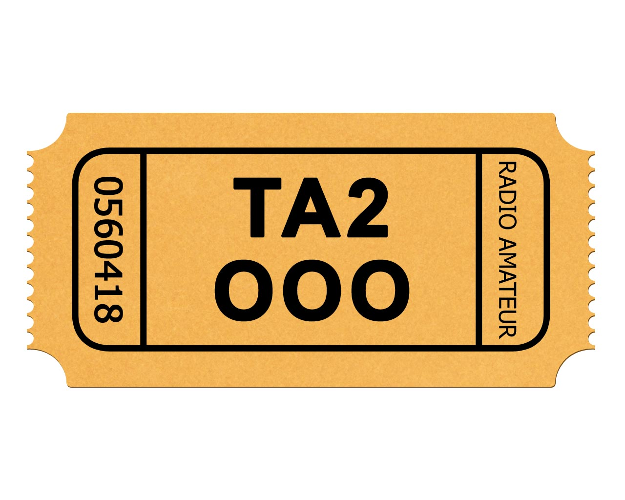1280x1024 Admission Ticket Clipart