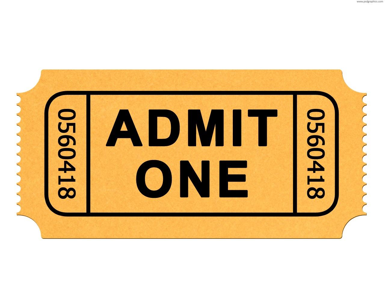 1280x1024 Admit One Ticket Clipart Kid Clip Art Ticket Masir