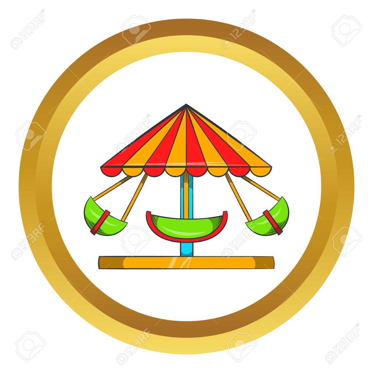 1300x1300 Carousel Clipart Golden
