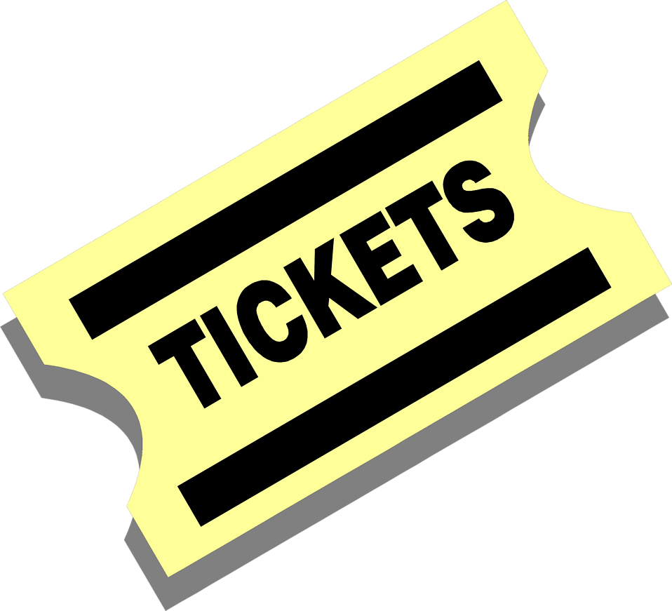 958x871 Clipart Ticket
