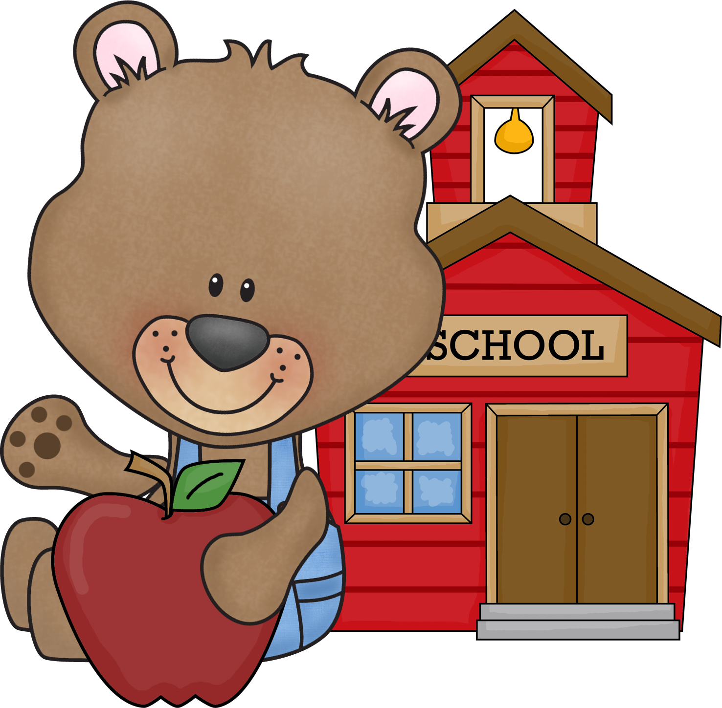1476x1449 Bear Clipart Kindergarten