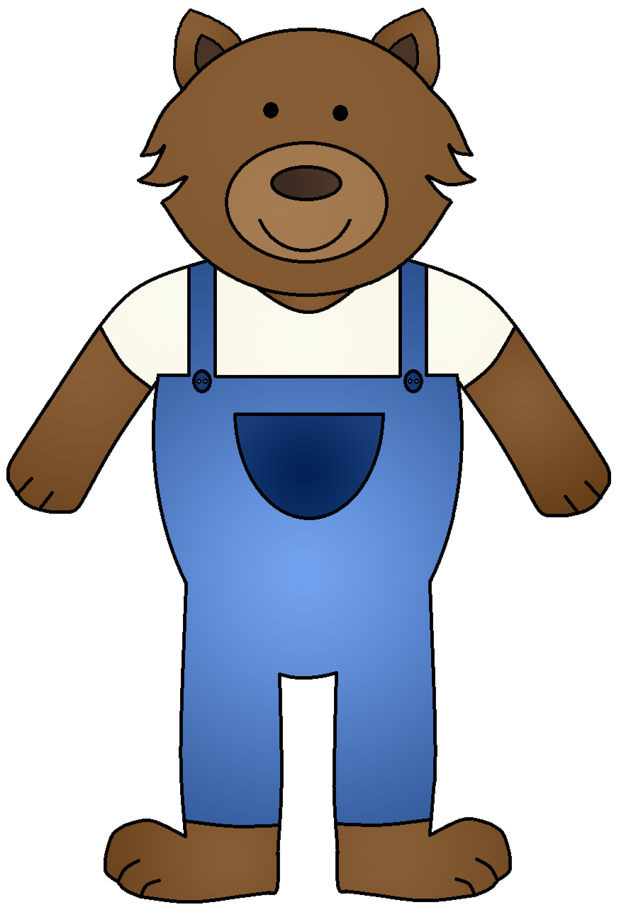 890x1301 Bear Clipart Three Little