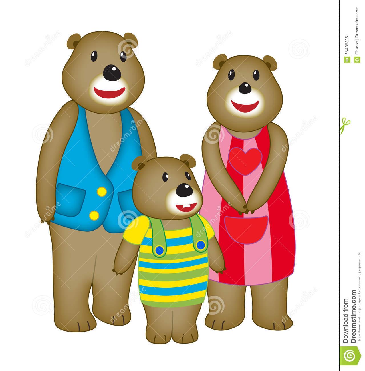 1279x1300 Bear Family Clipart