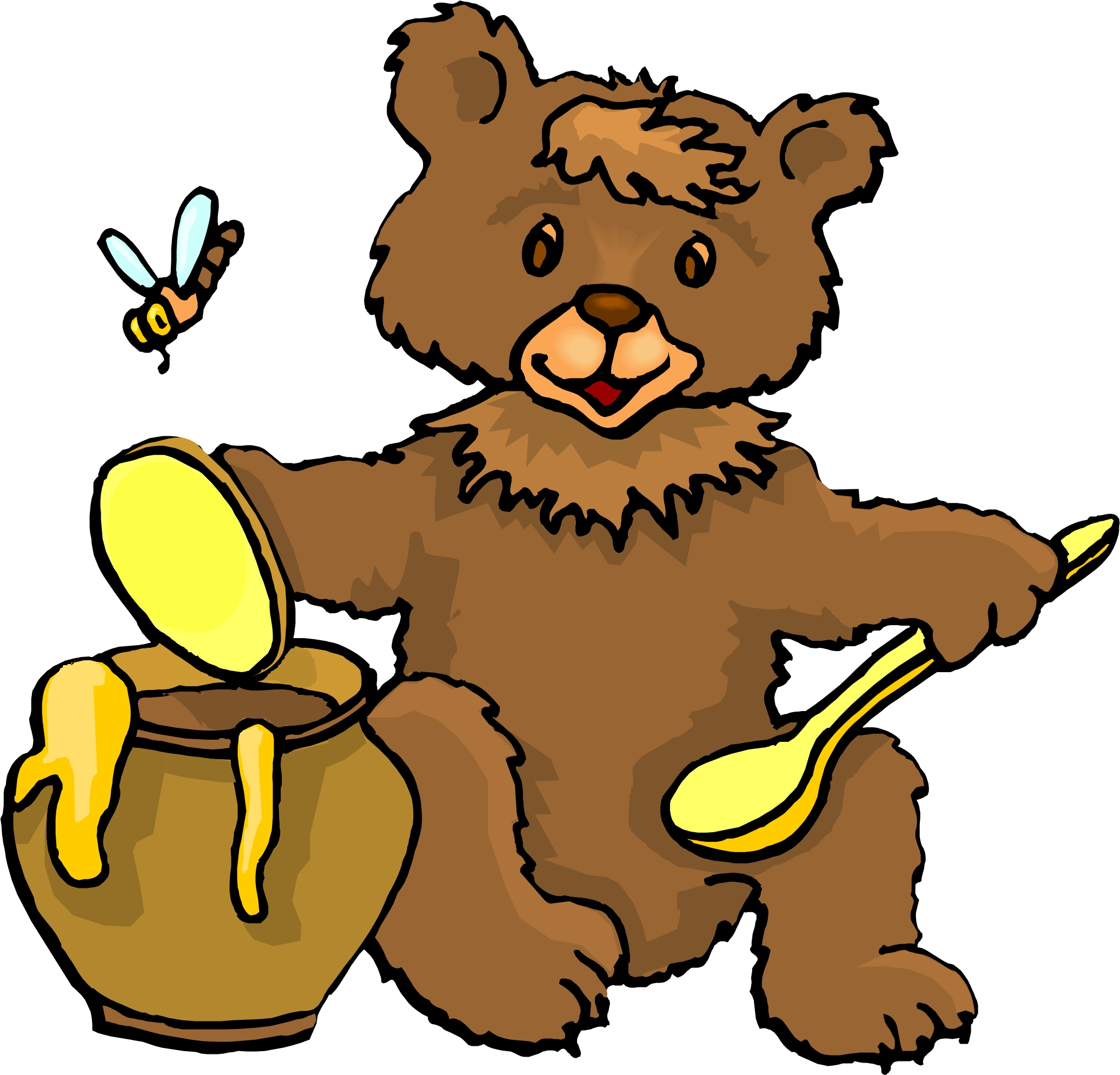 2071x1988 Brown Bear Clipart 3 Bears