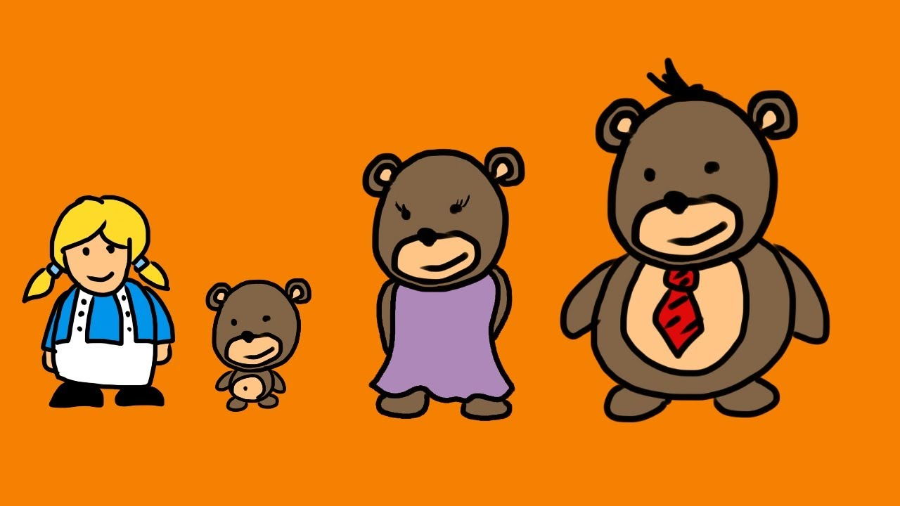 1280x720 Goldilocks And The 3 Bears